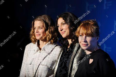 Marie Baumer, Emily Atef and Birgit Minichmayr