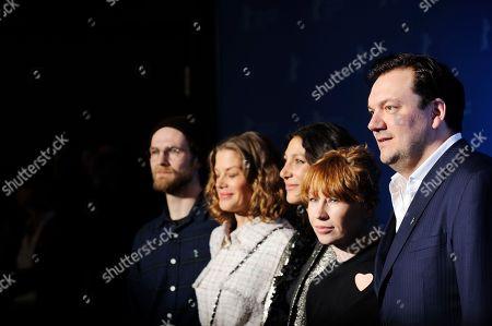 Robert Gwisdek, Marie Baumer, Emily Atef, Birgit Minichmayr and Charly Hübner