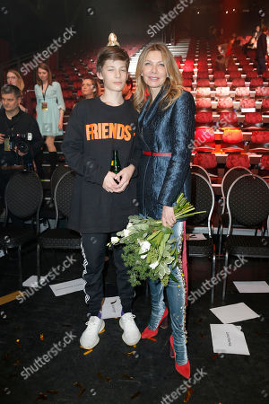 Ursula Karven and Sohn Liam
