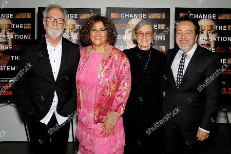Anna Deavere Smith, Gary Goetzman, Kristi Zea (Director), Len Amato (HBO Film President)
