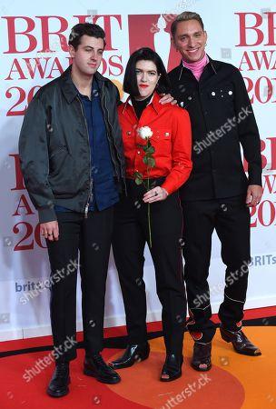 The xx - Oliver Sim, Romy Madley Croft and Jamie xx