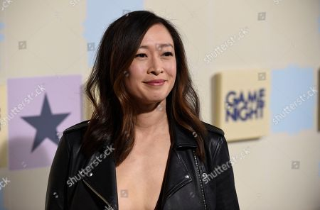 "Camille Chen arrives at the world premiere of ""Game Night"" at the TCL Chinese Theatre, in Los Angeles"