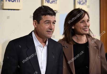 "Kyle Chandler, Kathryn Chandler. Kyle Chandler, left, and Kathryn Chandler arrive at the world premiere of ""Game Night"" at the TCL Chinese Theatre, in Los Angeles"