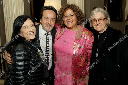 Barbara Kopple, Len Amato (HBO Film President), Anna Deavere Smith (Exec Producer, Writer), Kristi Zea (Director)