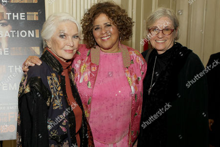 Stock Image of Ellen Burstyn, Anna Deavere Smith (Exec Producer, Writer), Kristi Zea (Director)
