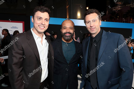 John Francis Daley, Co-Director/Actor, Jeffrey Wright, Jonathan M. Goldstein, Co-Director,
