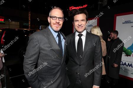 Toby Emmerich, Chairman, Warner Bros. Pictures Group, Jason Bateman