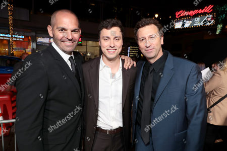 Mark Perez, Writer, John Francis Daley, Co-Director/Actor, Jonathan M. Goldstein, Co-Director,