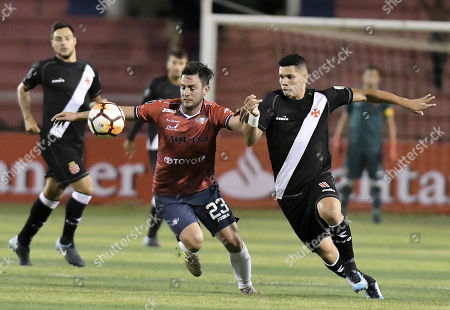 Editorial picture of Wilstermann vs Vasco da Gama, Sucre, Bolivia - 21 Feb 2018