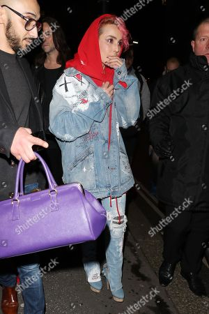 Editorial photo of Warner BRIT Awards Afterparty, London, UK - 21 Feb 2018