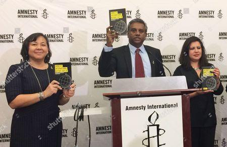 Editorial photo of Amnesty International Americas, Washington, USA - 21 Feb 2018
