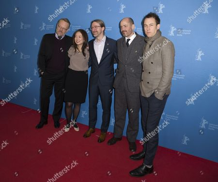 Stock Photo of Soo Hugh, David Kajganich,Edward Berger,Tobias Menzies, Jared Harris