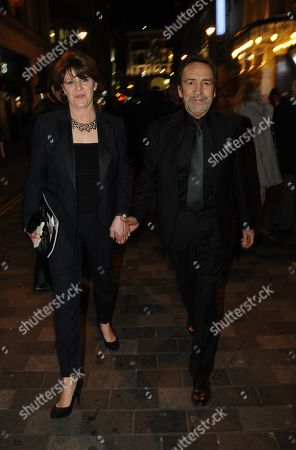 Stock Picture of Rosemary Ford and Robert Lindsay