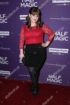 Editorial photo of 'Half Magic' film screening, Arrivals, Los Angeles, USA - 21 Feb 2018