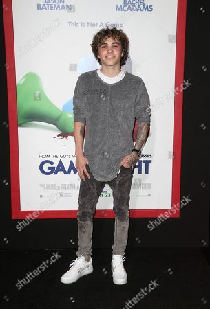 Editorial photo of 'Game Night' film premiere, Arrivals, Los Angeles, USA - 21 Feb 2018