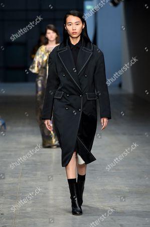 Editorial picture of Albino Teodoro show, Runway, Fall Winter 2018, Milan Fashion Week, Italy - 21 Feb 2018