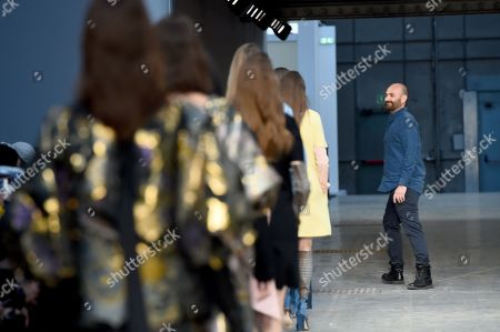 Stock Picture of Models on the catwalk