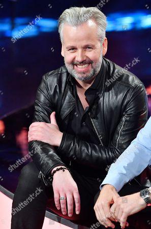Editorial photo of  'Skavlan' TV show, Stockholm, Sweden - 21 Feb 2018
