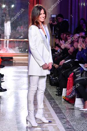 Sara Cavazza Facchini on the catwalk