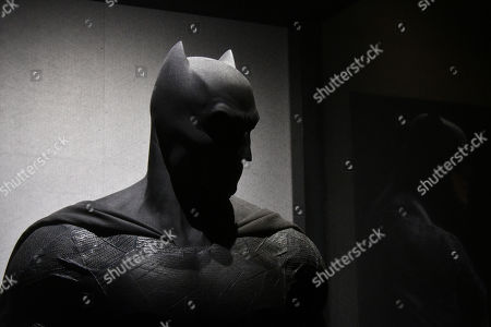 Editorial photo of 'DC Exhibition: Dawn of Super Heroes' Exhibition photocall, The O2 Arena, London, UK - 22 Feb 2018