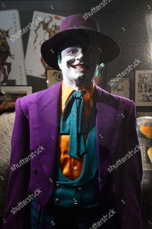 The Joker costume worn by Jack Nicholson in Batman, 1989, designed by Bob Ringwood