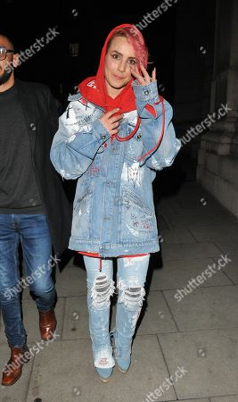 Editorial image of 38th Brit Awards afterparty, The Freemasons' Hall, London, UK - 21 Feb 2018