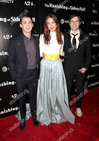 Editorial picture of 'The Vanishing of Sidney Hall' film premiere, Arrivals, Los Angeles, USA - 22 Feb 2018