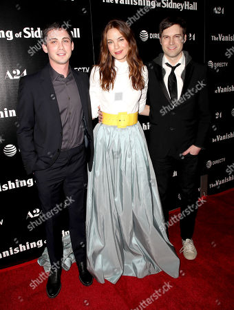 Stock Picture of Logan Lerman, Michelle Monaghan and Shawn Christensen