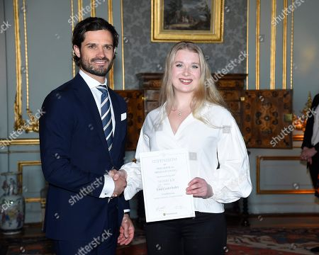 Editorial photo of Scholarship Award from the Prince Bertil and Princess Lilian Sports Foundation, The Royal Palace, Stockholm, Sweden - 22 Feb 2018
