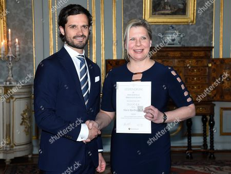 Stock Picture of Prince Carl Philip, Marie Björling Duell