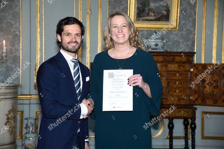 Prince Carl Philip, Jenny Gustavsson