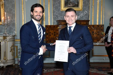 Editorial image of Scholarship Award from the Prince Bertil and Princess Lilian Sports Foundation, The Royal Palace, Stockholm, Sweden - 22 Feb 2018