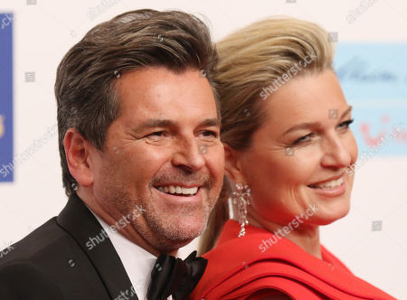 Thomas Anders and Claudia Hess