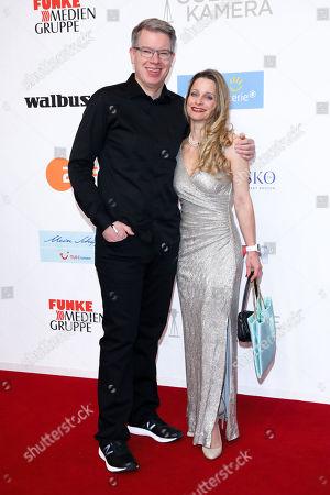 Stock Picture of Frank Thelen mit Ehefrau Nathalie Thelen-Sattler
