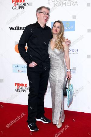 Stock Image of Frank Thelen mit Ehefrau Nathalie Thelen-Sattler