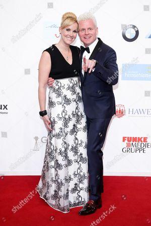 Stock Image of Guido Cantz mit Ehefrau Kerstin Ricker