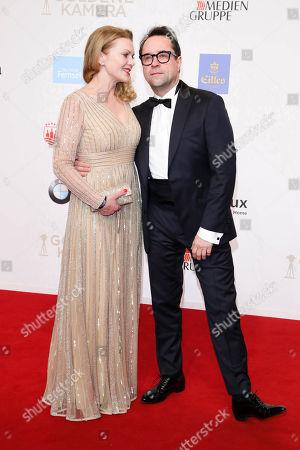 Jan Josef Liefers mit Ehefrau Anna Loos