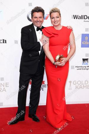 Thomas Anders mit Ehefrau Claudia