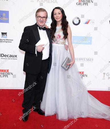 Jan Hofer mit partner Phong Lan Truong