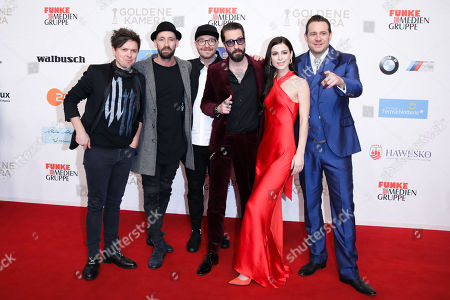 Michael Patrick Kelly, Gentleman, Mark Forster, Alec Voelkel, Lena Meyer-Landrut and Sascha Vollmer