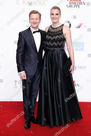 Michael Kessler mit Ehefrau