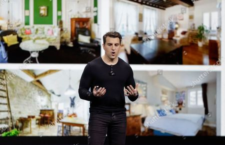 Airbnb co-founder and CEO Brian Chesky talks about the new Plus program during an event, in San Francisco. Airbnb is dispatching inspectors to rate a new category of properties listed on its home-rental service in an effort to reassure travelers they're booking nice places to stay. The program is aimed at winning over travelers who aren't sure they can trust the computer-driven system that Airbnb uses to assess the quality of rentals