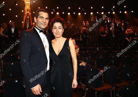 Mitri Sirin and Dunja Hayali