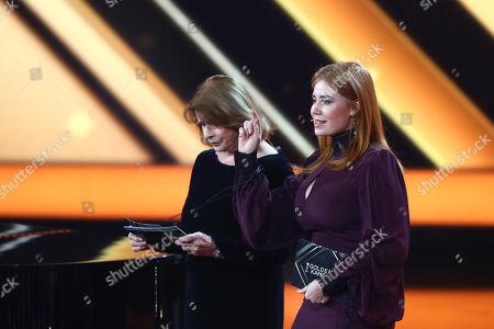 Senta Berger and Palina Rojinski