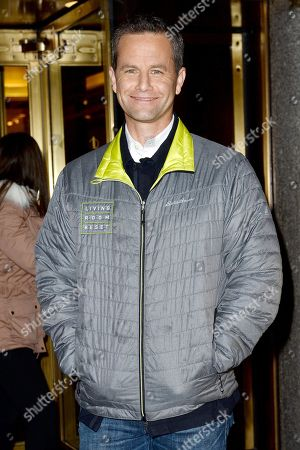 Editorial image of Kirk Cameron out and about, New York, USA - 22 Feb 2018