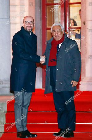 Antonio Costa and Charles Michel