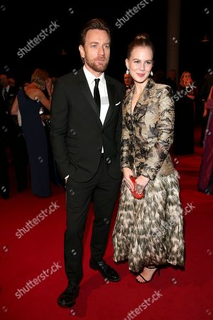 Ewan McGregor and Alicia von Rittberg