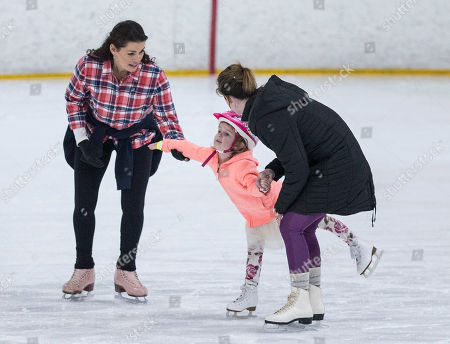 Editorial image of Former US Olympic Figure Skater Nancy Kerrigan, Stoneham, USA - 22 Feb 2018