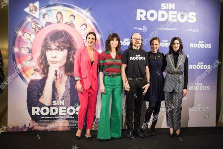 Santiago Segura, Cristina Pedroche, Toni Acosta, Maribel Verdu and Barbara Santacruz