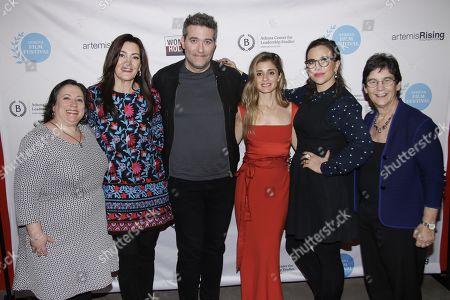 Melissa Silverstein, Stacy Rukeyser, Craig Bierko, Shiri Appleby, Sarah Gertrude Shapiro and Kathryn Kolbert